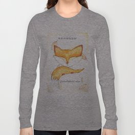 the fox who had lost his tail Long Sleeve T-shirt