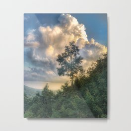 Linville gorge Metal Print