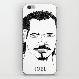 Joel Kinnaman iPhone Skin