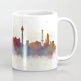 Berlin City Skyline HQ5 Coffee Mug