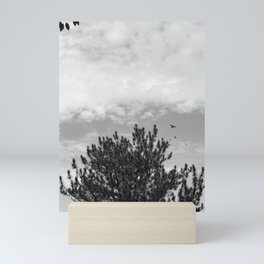 Tree Black and White Mini Art Print