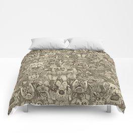 gargoyles vintage Comforters