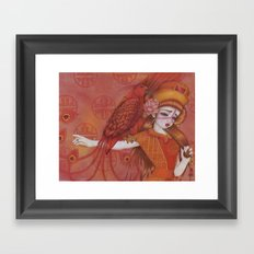 Huo: Vermillion Bird Framed Art Print