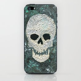 Large Skull Painting iPhone Skin