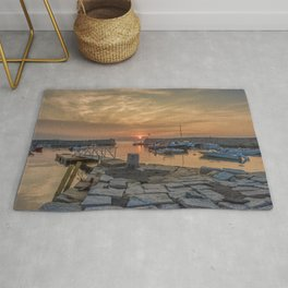 Summer sunset at Lanes Cove Rug
