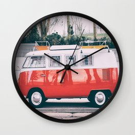 Combi car 4 Wall Clock