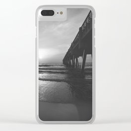Pier and Surf Clear iPhone Case