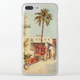 Cane, Ella du (1874-1943) - The Banks of the Nile 1913, The bazaar at Assuan Clear iPhone Case