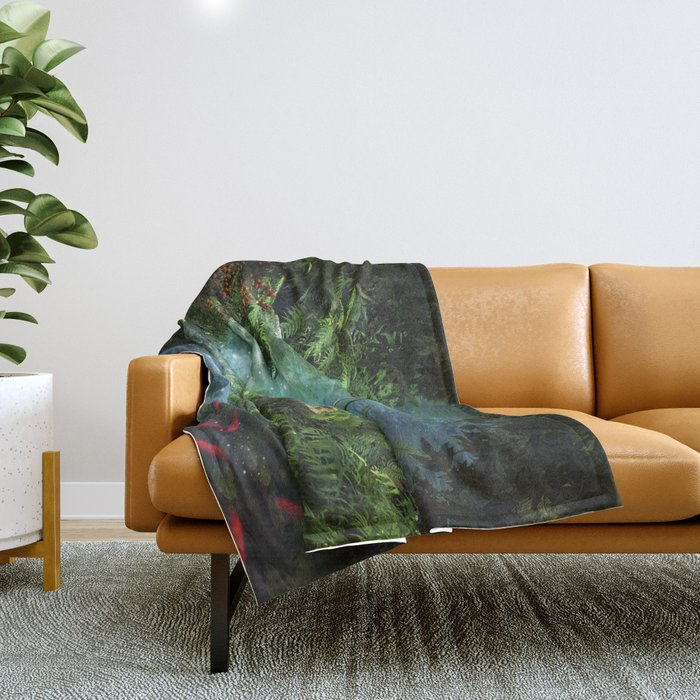 Enchanted Pond Throw Blanket