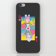 Queen Of Nowhere, King Of Nothing iPhone Skin