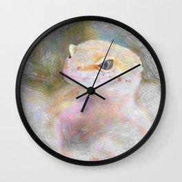 Artistic Animal Gekko Wall Clock
