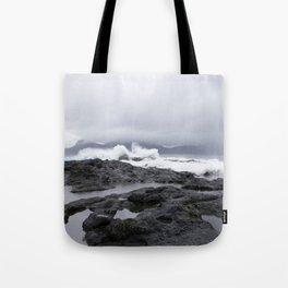 Faroe Islands rocky shores  Tote Bag