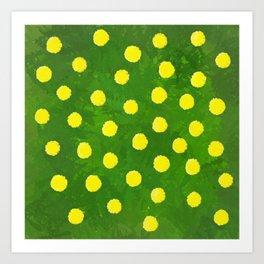 Flower Dandelion Art Print