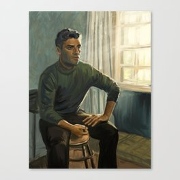 Oscar Isaac in Operation Finale Canvas Print