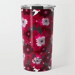Flowers Overflowing Travel Mug