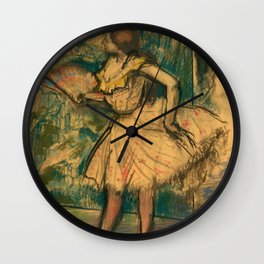 "Edgar Degas ""Dancer with a Fan"" Wall Clock"