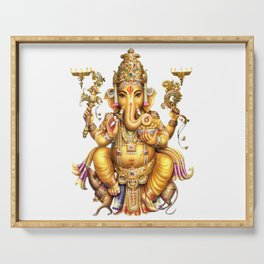 Ganesha - Hindu Serving Tray