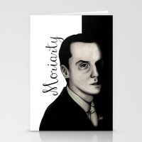 moriarty Stationery Cards featuring Moriarty by LiseRichardson