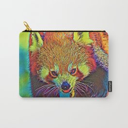 AnimalColor_RedPanda_002_by_JAMColors Carry-All Pouch