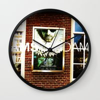 posters Wall Clocks featuring Amsterdam Posters by Cristhian Arias-Romero