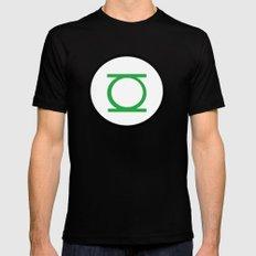 Green Lantern Symbol MEDIUM Mens Fitted Tee Black