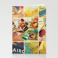 egypt Stationery Cards featuring Egypt  by Vic[tori]a Little