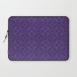 Purple Swirl pattern Laptop Sleeve