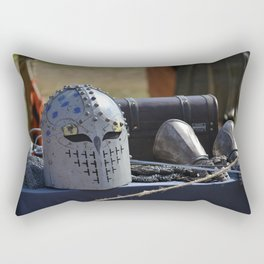 a step back in time Rectangular Pillow