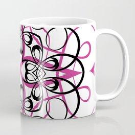 FUCHSIA SACRED GEOMETRY Coffee Mug