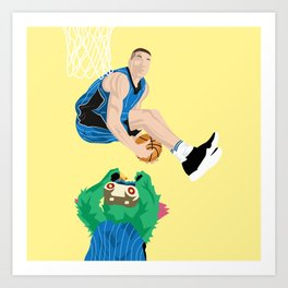 Air Gordon Art Print