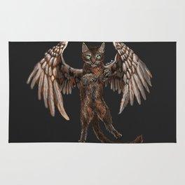 Winged Cat Rug