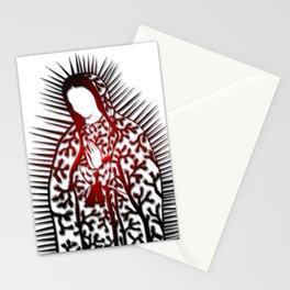 La Virgen De Joshua Tree by CREYES Stationery Cards