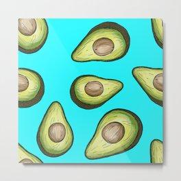 fruite avocado Metal Print