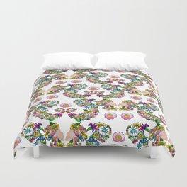 Blooming Ponytail Duvet Cover
