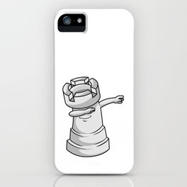 Rook Chess piece at Chess Hip Hop Dance Dab iPhone Case
