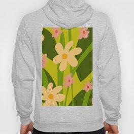 Modern Floral Spring Pattern Hoody