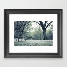 Sunrise Picnic Framed Art Print