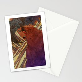 The Lament of Bear and Crow Stationery Cards