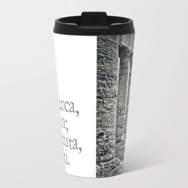 Temple of Segesta Travel Mug