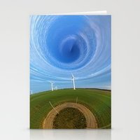 wind Stationery Cards featuring Wind by Sébastien BOUVIER