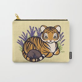 Loafing Tiger, Hidden Platypus Carry-All Pouch