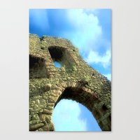castle in the sky Canvas Prints featuring Castle by Brian Raggatt