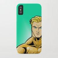 aquaman iPhone & iPod Cases featuring Aquaman by J. J.