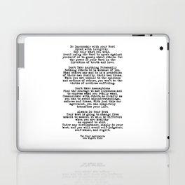 The Four Agreements #minimalist 3 Laptop & iPad Skin