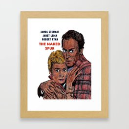 The Naked Spur Framed Art Print