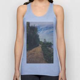 The road ahead Unisex Tank Top
