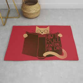 How to Rule the Internet (for cats) Rug