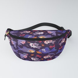 Spooky Cory cats Fanny Pack