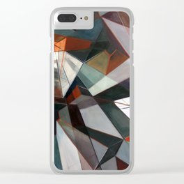 Perspective Shift II Clear iPhone Case