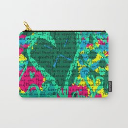 Life in text Carry-All Pouch